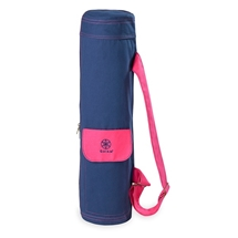 Navy and Pink Mat Bag