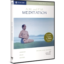 AM/PM Yoga Meditation DVD