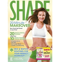 SHAPE: 20 Minute Makeover DVD