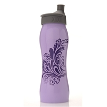 Stainless St Waterbottle Purple Splash