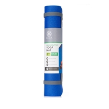 6mm PVC Yoga Mat Blue/Grey