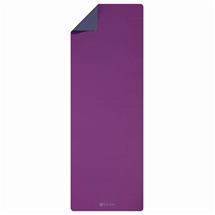 Ultra Sticky Grape/Grey 6mm Yoga Mat and Sling