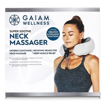 Gaiam Wellness Super Soothe Neck Massager