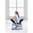 Premium Support Dark Marble/Grey 6mm Yoga Mat and Sling_27-70003_2