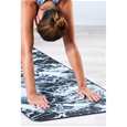 Premium Support Dark Marble/Grey 6mm Yoga Mat and Sling_27-70003_3