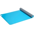 Soft Grip Sky/Grey 4mm TPE Yoga Mat and Sling_27-70004_1