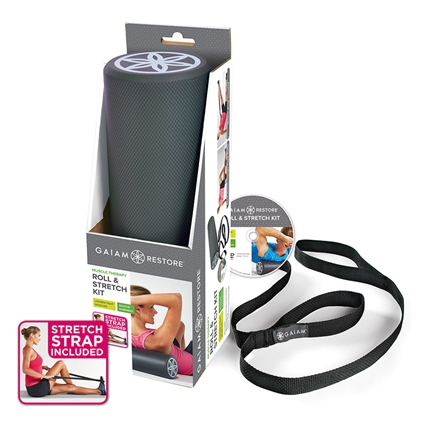 Gaiam 46cm Roll & Stretch Kit