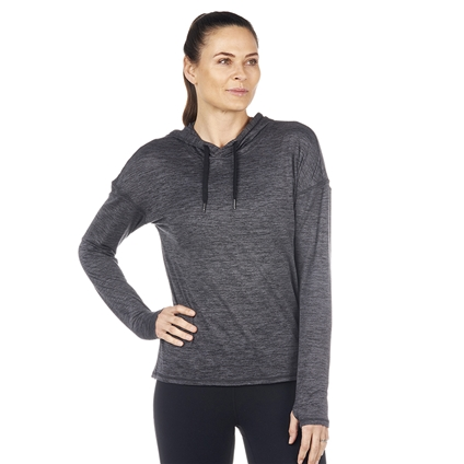 Athena Cowl Long Sleeve Top