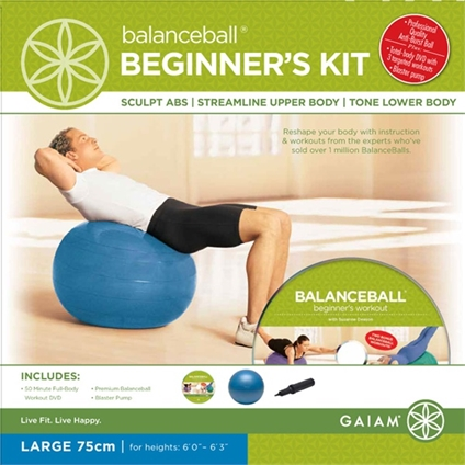 BalanceBall Beginner Kit - 75cm Large