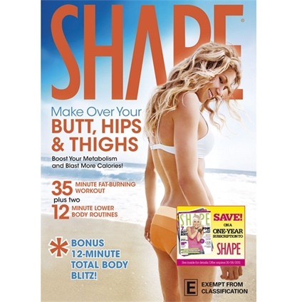 SHAPE:Makeover Hips,Butt&Thighs DVD